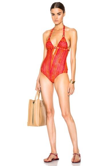 V Neck Swimsuit