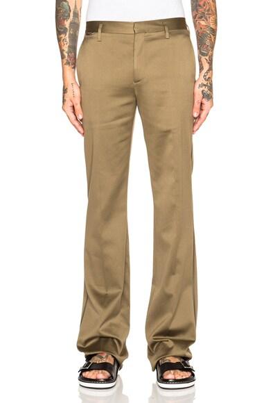 Broken Twill Cotton Pants