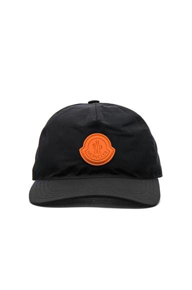 Moncler x Off White Cap in Black