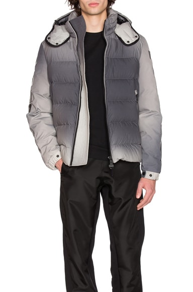 Moncler x Off White Enclos Jacket in Grey
