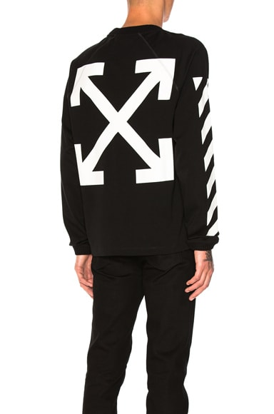 Moncler x Off White Long Sleeve Shirt in Black