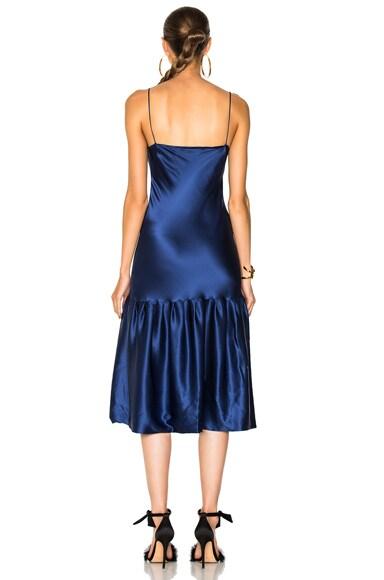 Don't Underestimate Me Silk Dress