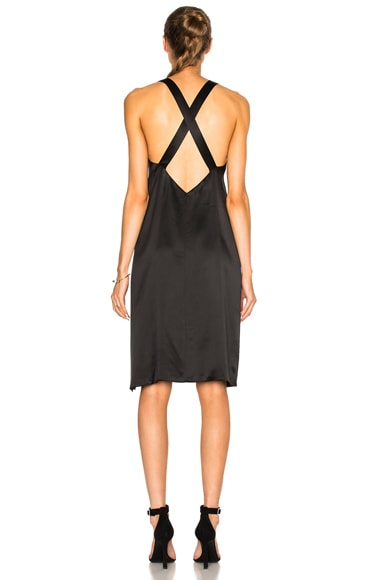 Cross Back Slip Dress