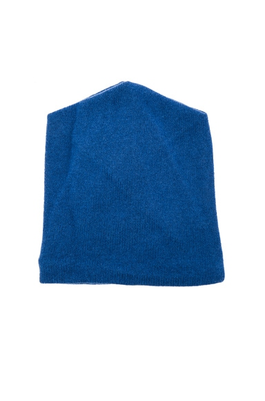 Michelle Mason Wool Cashmere Beanie in Peacock