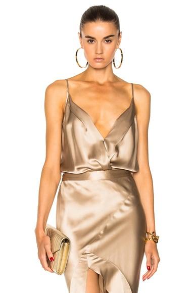 Cami Wrap Bodysuit Michelle Mason