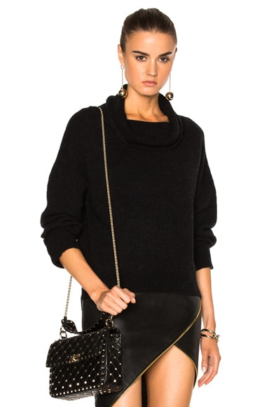 Michelle Mason Turtleneck Sweater in Black