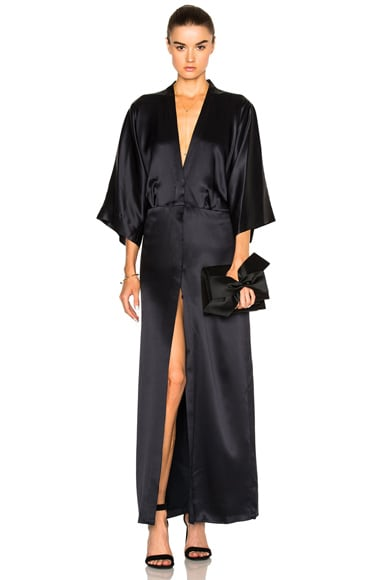 Michelle Mason Kimono Jacket in Midnight
