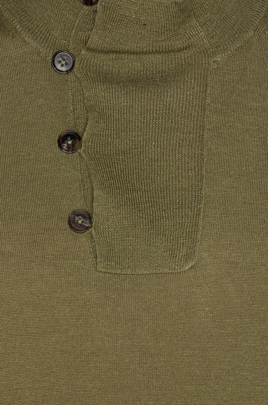 Jersey Elbow Patch Sweater
