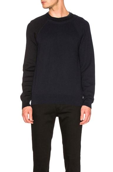 Herringbone & Honeycomb Sweater