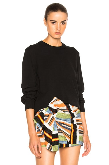 Maison Margiela Pullover Sweater in Black