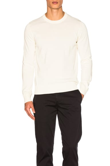 Maison Margiela Pullover Sweater in Off White