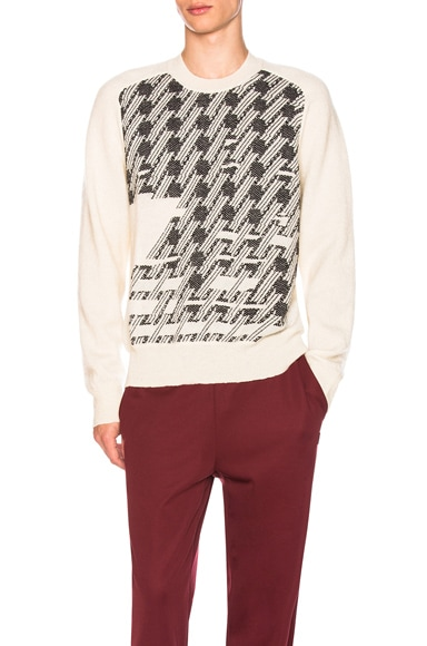 Print Front Pullover