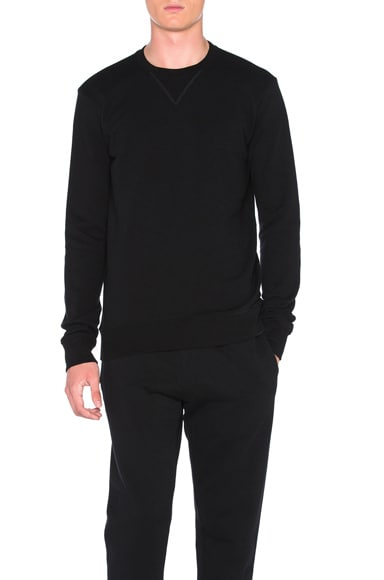 Maison Margiela Cotton Sweatshirt in Black