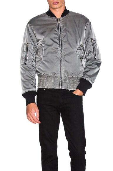 Maison Margiela Bomber Jacket in Grey