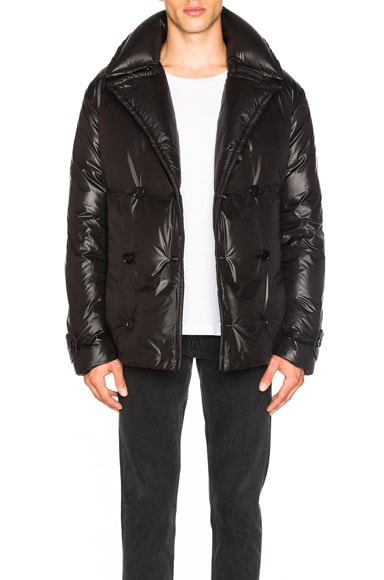 Maison Margiela Peacoat in Black