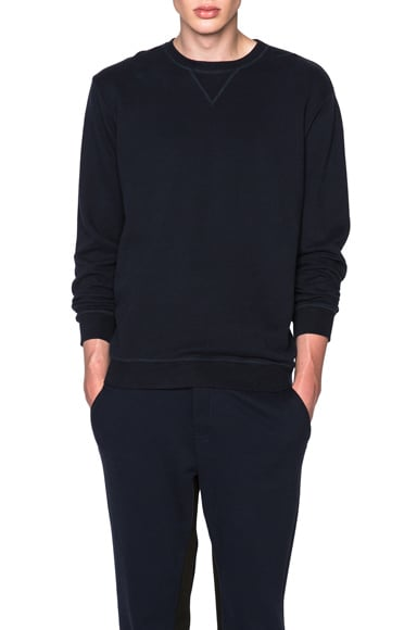 Maison Margiela Sweatshirt in Black & Navy