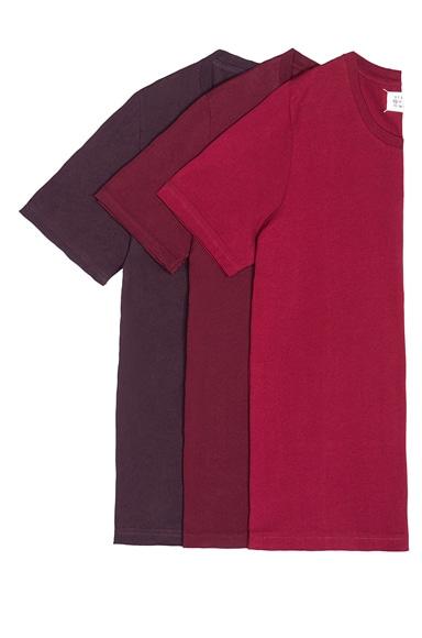 Maison Margiela Cotton Jersey Tee Set in Reds