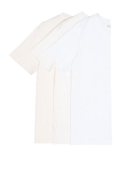 Maison Margiela Cotton Jersey Tee Set in Whites
