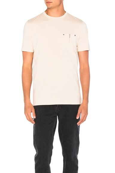 Maison Margiela Pocket Tee in Skin