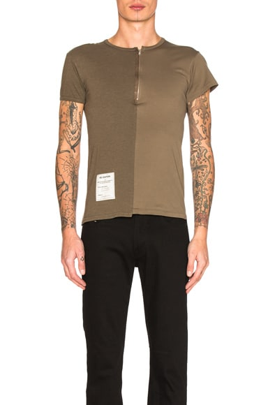 Maison Margiela Overdyed Tee in Military