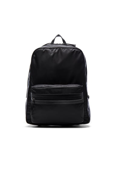 Maison Margiela Zip Backpack in Black
