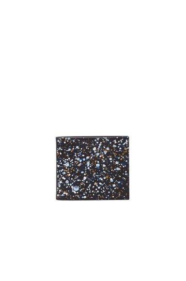 Maison Margiela Pollock Effect Billfold Wallet in Black