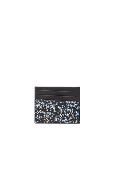 Maison Margiela Pollock Effect Cardholder in Black