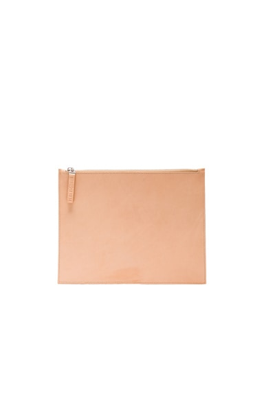 Maison Margiela Leather Pouch in Nude