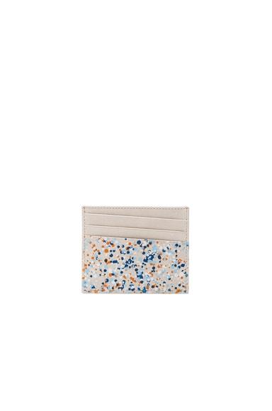 Maison Margiela Pollock Effect Cardholder in White