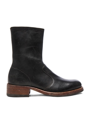 Leather Replica Boots