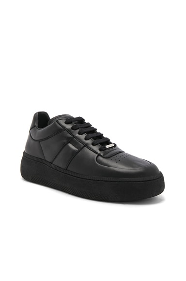 Soft Leather Low-Top Sneakers