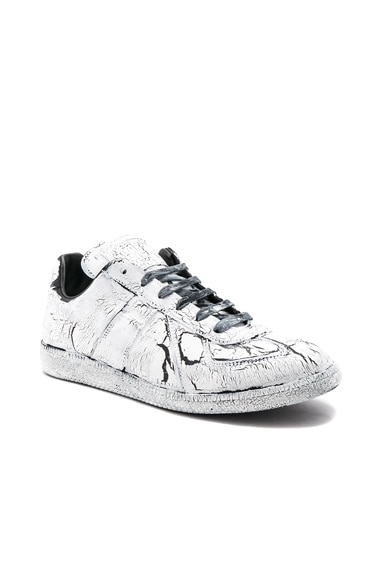 Crumbled Leather Replica Sneakers