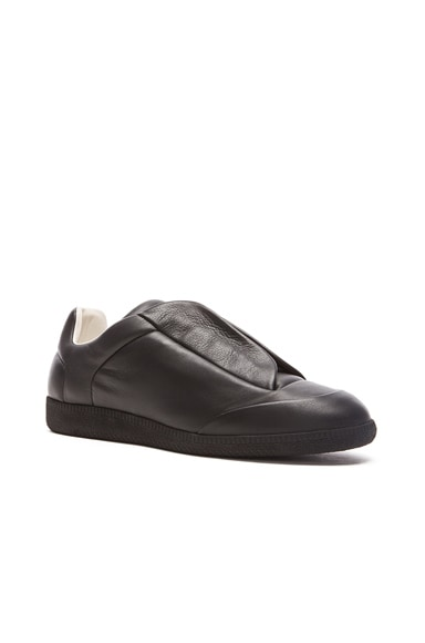 Future Leather Low Tops