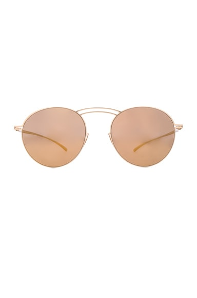 Maison Margiela x Mykita Essential Sunglasses in Gold