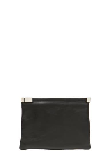 Mini Zip Leather Bag