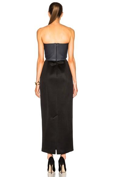 Soft Neoprene Strapless Dress