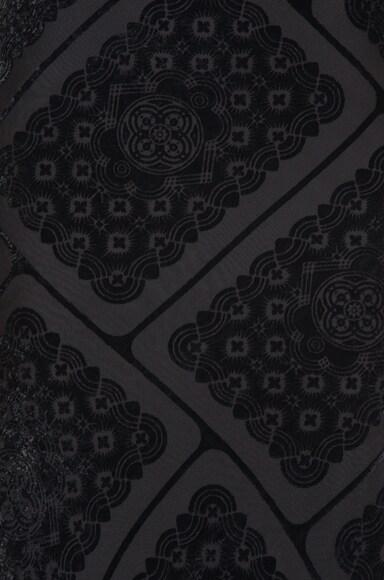 Printed Devore Gown