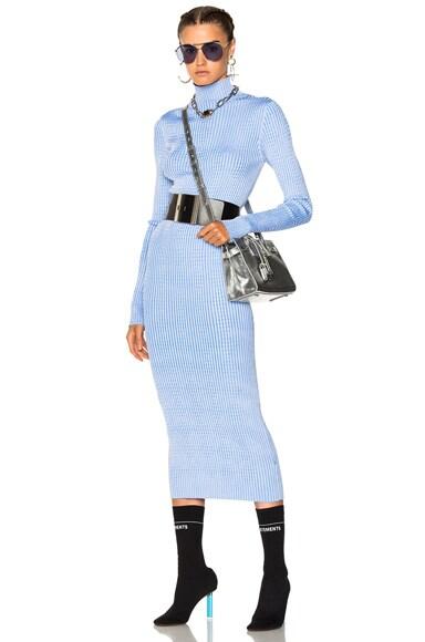 Thin Rib Sweater Dress