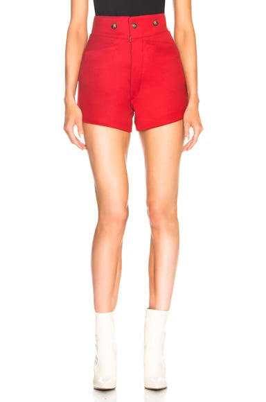 High Waisted Riding Shorts