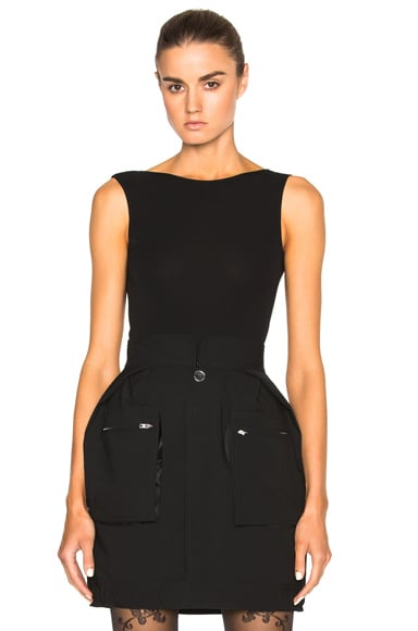 Maison Margiela Bodysuit in Black