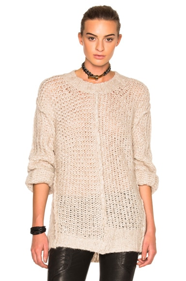 Maison Margiela Multi Stitch Sweater in Champagne