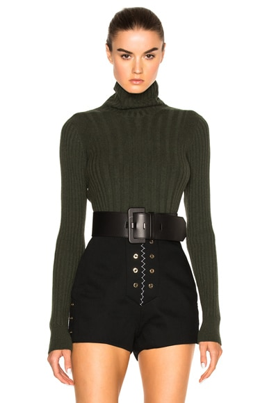 Maison Margiela Ribbed Sweater in Musk