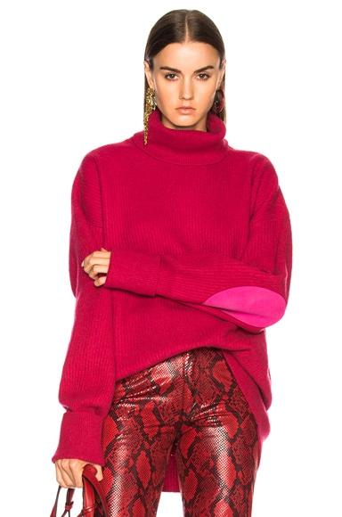 Oversized Sleeve Turtleneck Sweater