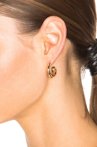 Fine Twisted Earrings
