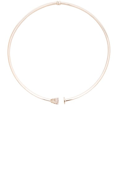 Maison Margiela Choker Necklace in Gold