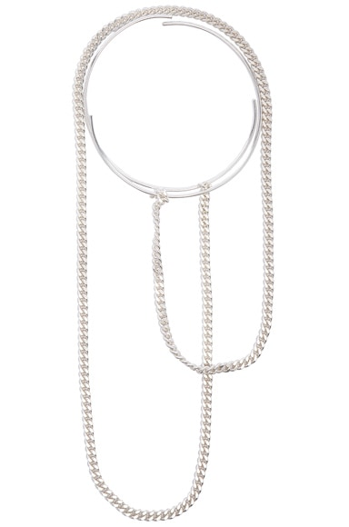 Maison Margiela Necklace in Silver