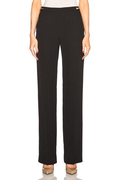 Maison Margiela Heavy Enver Satin Trousers in Black