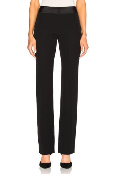 Maison Margiela Satin Pants in Black