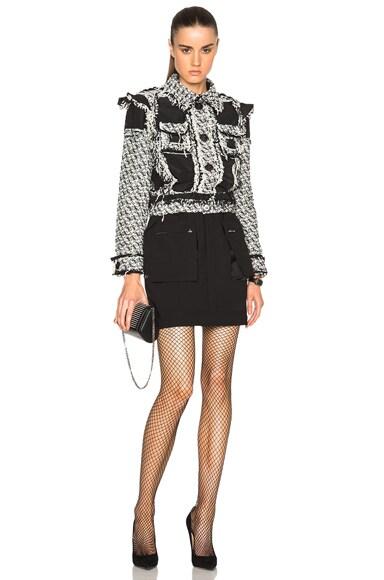Wool Popeline Skirt