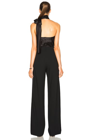 Wool Popeline Jumpsuit